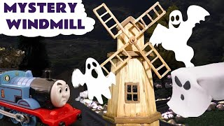 Thomas & Friends Spooky Windmill Prank with Play Doh Ghost Train Toy Story TT4U