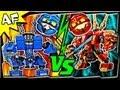 JAY vs KAI - Lego Ninjago MECH BATTLE #1 - Ending A