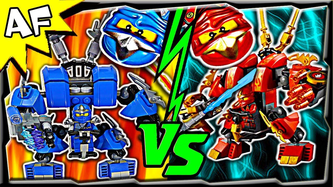 Lego Mech Suit Ninjago Jay vs Kai Lego Ninjago Mech