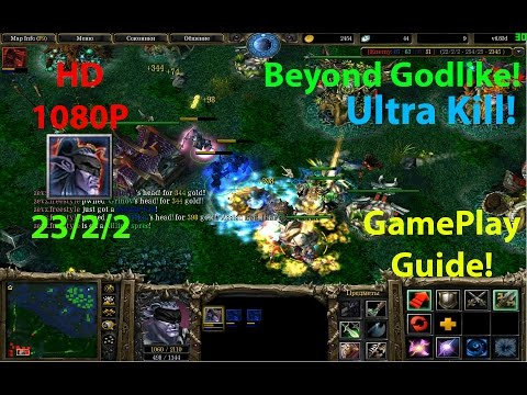 ★DoTa Anti Mage - GamePlay / Guide★KDA: 23/2/2!★Beyond Godlike! Ultra Kill!★