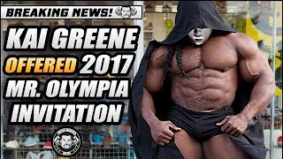 Kai Greene Gets A Special Invite To The 2017 Mr. Olympia