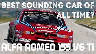 The ULTIMATE Alfa Romeo 155 | Action and Pure Sound