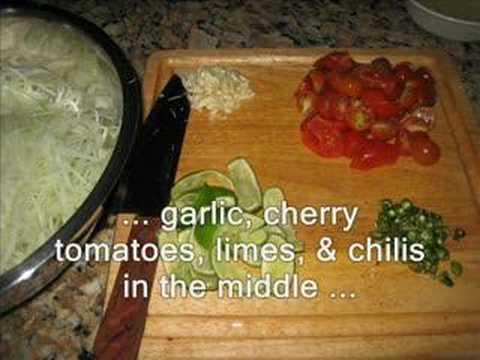 Green Papaya Salad (Boklahong)