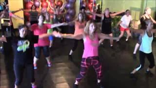 Zumba Fitness Dance and Lyrics Mr Put It Down