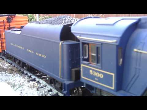 Garden railroad G scale Aristo-Craft Pacific 4-6-2