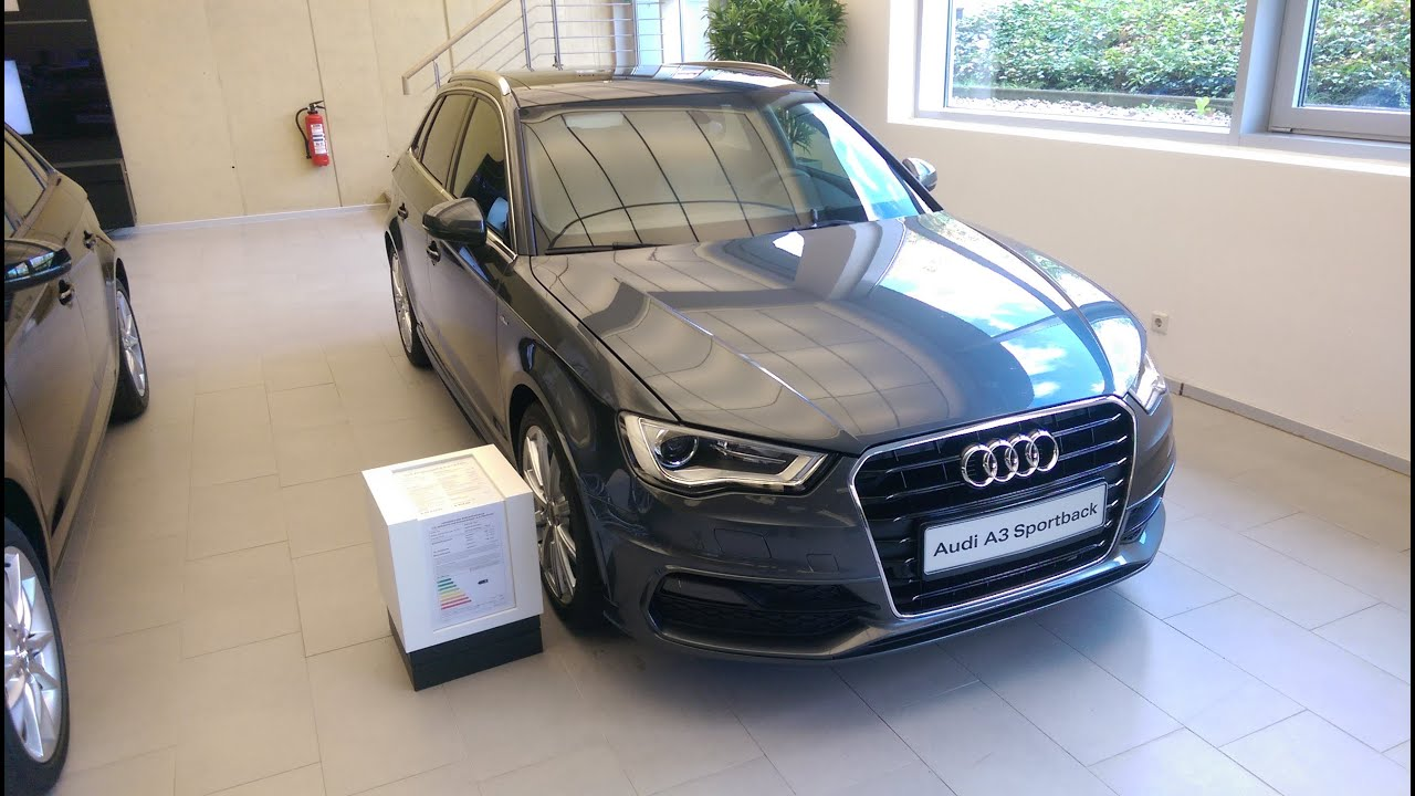 audi a3 sportback s line 1 8 tfsi 2015 youtube. Black Bedroom Furniture Sets. Home Design Ideas