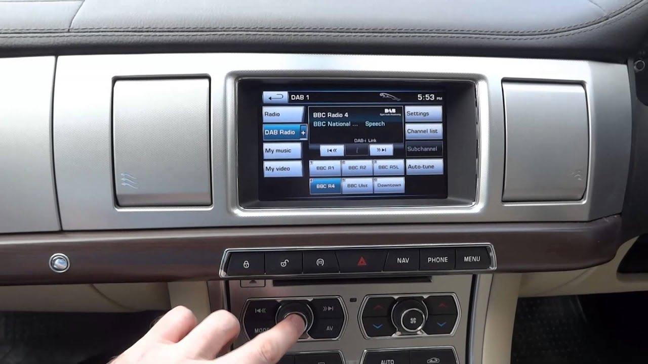 Jaguar Xf Ratings >> Jaguar XF Audio bug revealed - YouTube