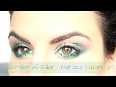 Makeup Tutorial con Sleek – Palettina Giardino di Eden