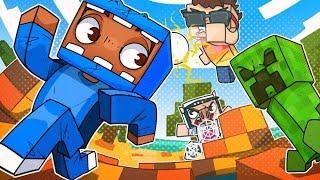 The Most Insane Spleef Mini Games! - Minecraft