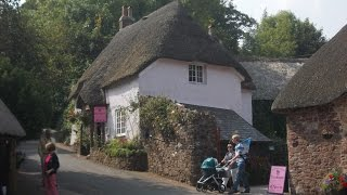 A walk round Cockington, Devon, England.