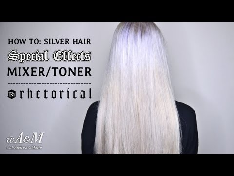 How To: Silver Hair - Special Effects Mixer/Toner [HD]