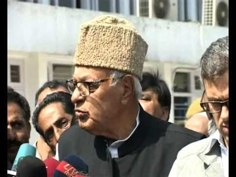 Farooq Abdullah exercised his franchise