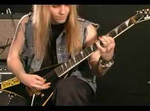 Alexi Laiho - Summer Presto (Guitar Lesson) Part 1