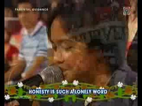 Honesty - Aiza Seguerra ( Revive 80