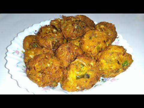 মুচমুচে বাঁধাকপির পেঁয়াজু/বড়া//cabbage Piyaju Recipe