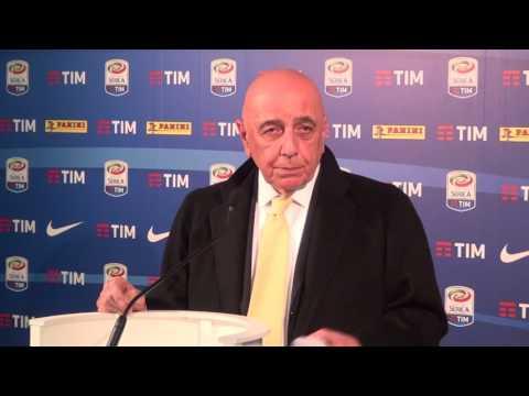 """Adriano Galliani: """"Derby decisivo. Sul traguardo Europa League dico che..."""""""