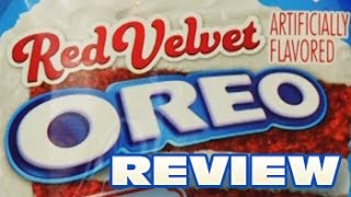 Red Velvet Oreo Cookie Review - Oreo Oration
