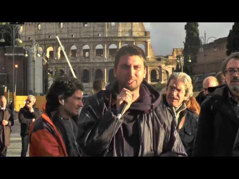 3.12-Giovanni,laboratorio #scioperosociale Napoli,dopo cariche al corteo vs #jobsact