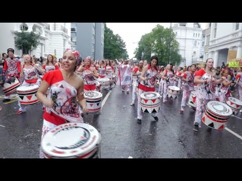 Notting Hill Carnival brings Caribbean flair to London