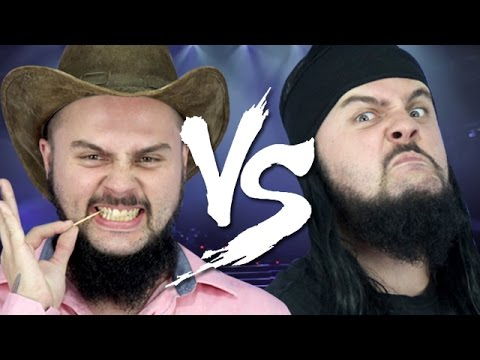 Sertanejo universitário vs metal
