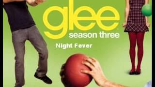 Watch Glee Cast Night Fever video