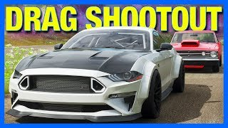 Forza Horizon 4 : Drag Shootout!!