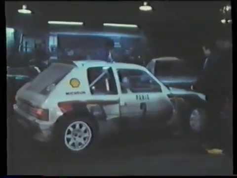 Rallye Monte Carlo 1985 ( německy, deutsche kommentator, german commentary)