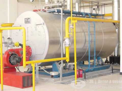 Industry gas oil fired steam boiler in India