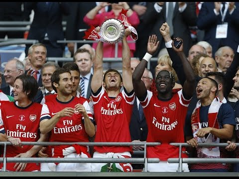 ARSENAL - The WINNER FA Cup 2014 - Road to Wembley + Community Shield 2014 HD