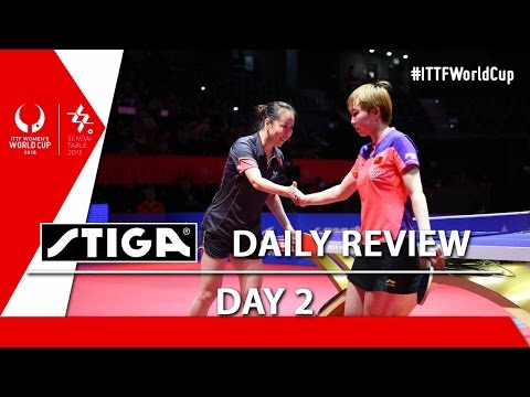 2015 Women's World Cup - Day 2 - Daily Review presented by Stiga
