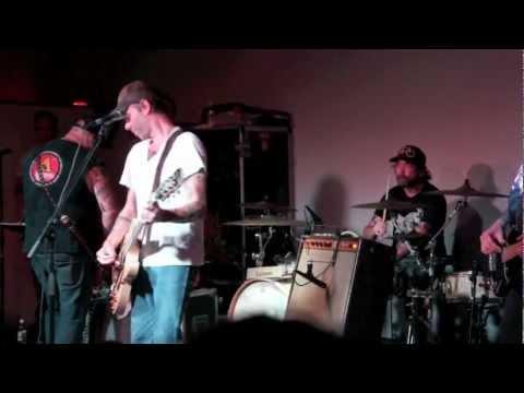 Lucero / Performance&Interviews with Roy Berry (drummer), John C. Stubblefield (bassist)