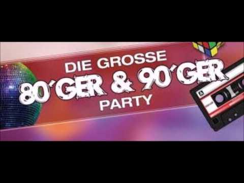 80er / 90er Jahre Musik Remix