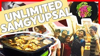 UNLIMITED SAMGYUPSAL IN CAVITE?! | #JamesVLOGS 🎥✨