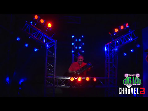 CHAUVET DJ Gig Lab: Concept DJ Set-up with Intimidator Wave IRC