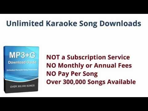 Download Karaoke Songs - Unlimited MP3+G File Downloads
