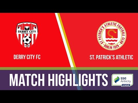 GW16: Derry City 1-1 St. Patrick's Athletic