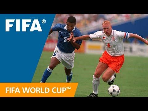 World Cup Highlights: Netherlands - Brazil. USA 1994