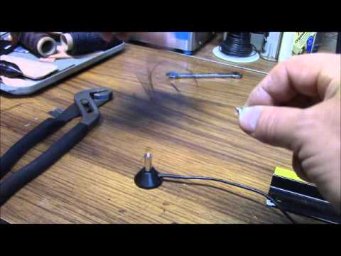 DIY Dual Band VHF UHF antenna from surplus