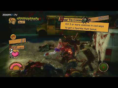 Upskirt Zombie Slaying Action - Lollipop Chainsaw (gameplay 1080p) video