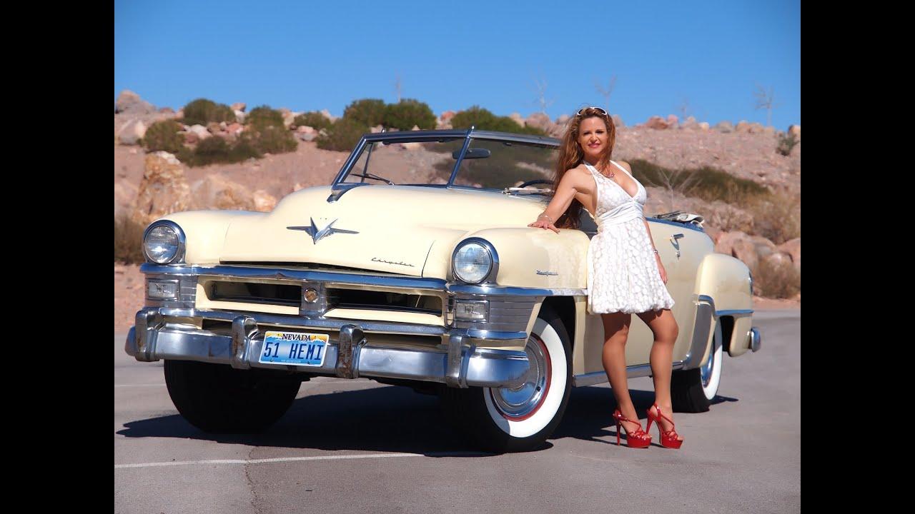 Las Vegas Auto Sales >> 1951 Chrysler New Yorker Convertible -Test Drive - Viva Las Vegas Autos - YouTube