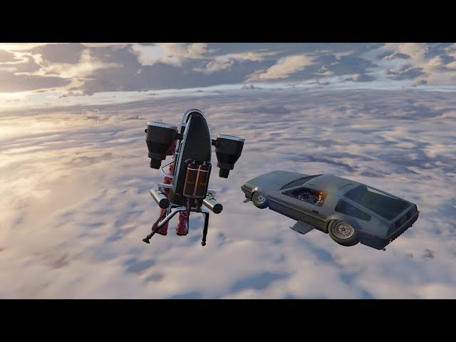 FLYING CAR AND THEFT MISSION !!! GTA V NEW DLC
