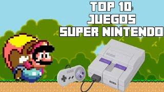 Top 10: Juegos del Super Nintendo (SNES) - Pepe el Mago