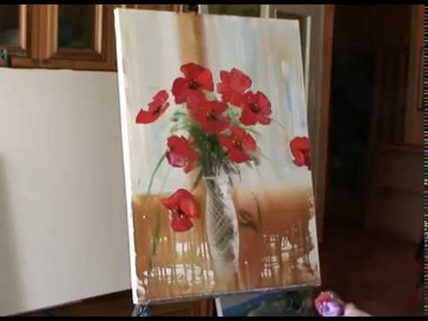 Видеоуроки живописи маслом для начинающих - видео