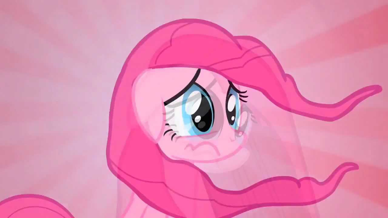 Pinkie Pie Deflating Hair Reverse Inflating Hair