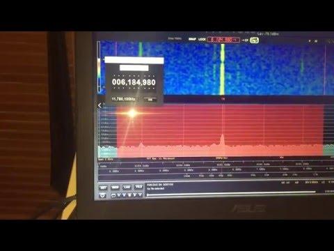 XEPPM Radio Educación 6184.98 kHz Mexico City, heard in Oxford, UK