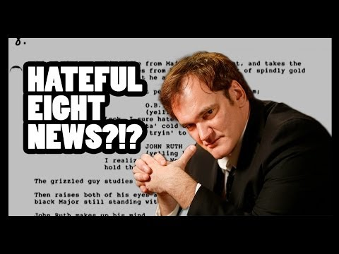Tarantino's Hateful Eight Status Update! - CineFix Now