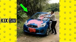 Watch keep laugh EP151 ● The funny moments 2018