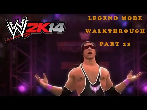 Bret Hart Vs Yokozuna - Wrestlemania X  - 30 Years Of Wrestlemania - Walkthrough Wwe 2k14 Part 11 video