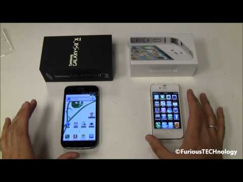 Samsung Galaxy S2 X vs Apple iPhone 4S Music Videos