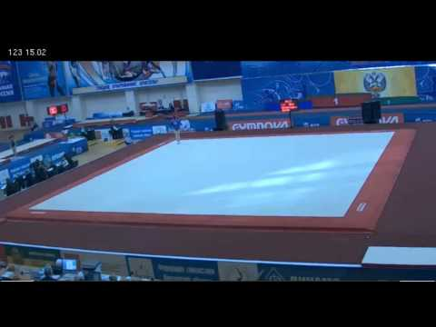 Aliya Mustafina Floor (part), Russian Championships, 3/21/12